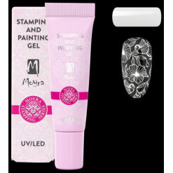 Moyra Stamping and Painting Gel No.01 White